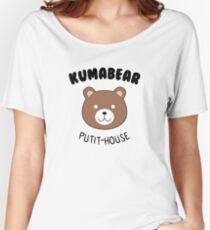 Kuma Bear Putit-House Women's Relaxed Fit T-Shirt