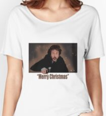 """Merry Christmas love from Hans"" Women's Relaxed Fit T-Shirt"