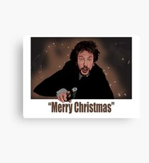 """Merry Christmas love from Hans"" Canvas Print"