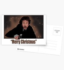 """Merry Christmas love from Hans"" Postcards"