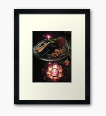 ingredience2 Framed Print
