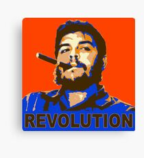 Che Geuvara Revolution Canvas Print