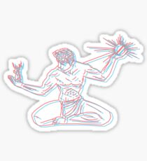 Spirit of Detroit 3D Sticker