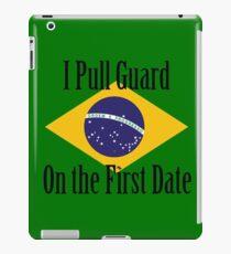 First Date BJJ (Black) iPad Case/Skin