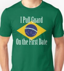 First Date BJJ (White) T-Shirt