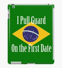 First Date BJJ (White) iPad Case/Skin
