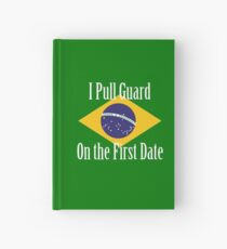 First Date BJJ (White) Hardcover Journal