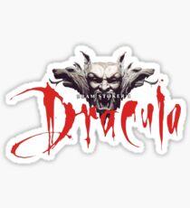 Dracula Bram Stoker Sticker