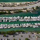 Miami: Hobie Island Harbour by Kasia-D
