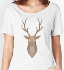 Deer - 2 Women's Relaxed Fit T-Shirt