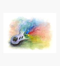 SNES Painting Photographic Print