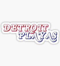 Detroit Playas Sticker