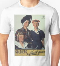 Vintage poster - Soldiers without guns Unisex T-Shirt