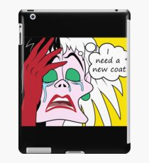 Villain World Problems - I need a new coat iPad Case/Skin