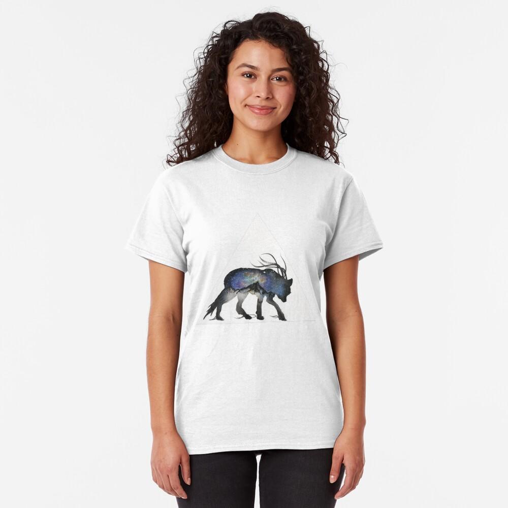 Alaskan Galaxy Wolf. Classic T-Shirt