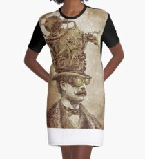 The Projectionist (sepia option) Graphic T-Shirt Dress
