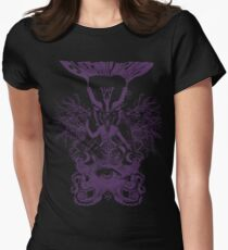 Electric Wizard - Baphomet (Purple) Womens Fitted T-Shirt