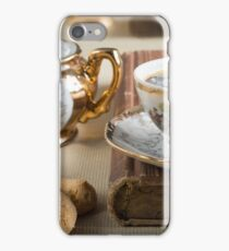 Porcelain tableware from the 19th century German Bavaria iPhone Case/Skin