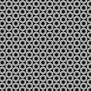 Black White Geometric Patterns by ARTDICTIVE