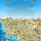 Cartoon Map of Southern California by Dave Stephens