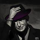 Leonard Cohen by Brad Collins