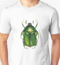 Green Beetle Unisex T-Shirt