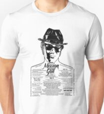 Elwood Blues Brothers tattooed 'Dry White Toast' Unisex T-Shirt