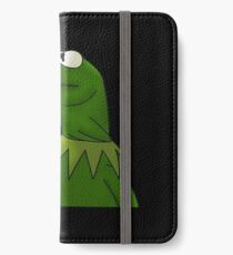 Funny Kermit That's None Of My Business iPhone Wallet/Case/Skin