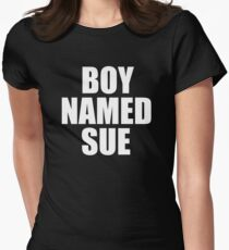 Boy Named Sue Women's Fitted T-Shirt