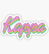 Kappa 90's Sticker