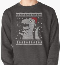 Christmas Dino Ugly Sweater T-Shirt Pullover