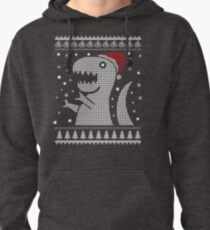Christmas Dino Ugly Sweater T-Shirt Pullover Hoodie
