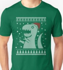 Christmas Dino Ugly Sweater T-Shirt T-Shirt