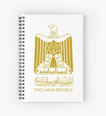 Spicy Arab Republic - Coat of Arms Spiral Notebook