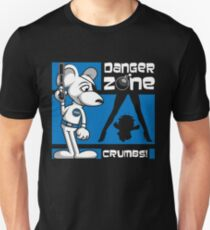 Danger Zone - blue Unisex T-Shirt