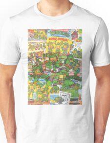 Vintage Comic Teenage Mutant Hero Turtles Unisex T-Shirt