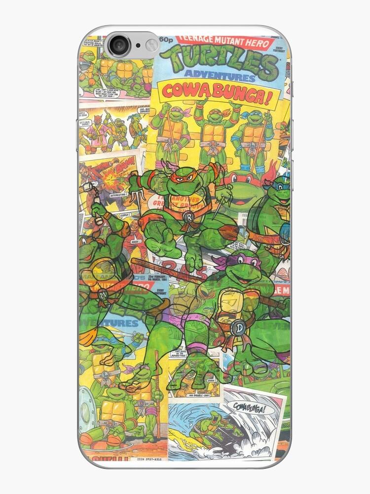 Vintage Comic Teenage Mutant Hero Turtles by Daveseedhouse