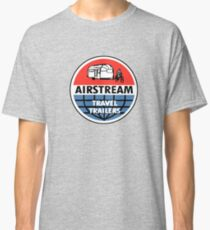 Airstream Travel Trailer Vintage Decal Classic T-Shirt