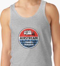 Camiseta de tirantes Airstream Travel Trailer Calcomanía vintage