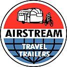Airstream Travel Trailer Vintage Decal by hilda74