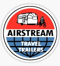 Airstream Travel Trailer Vintage Decal Sticker