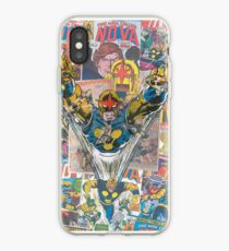 Vinilo o funda para iPhone Vintage Comic Nova