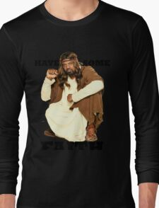 BLACK JESUS Long Sleeve T-Shirt
