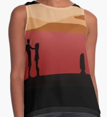 It Is The Will Of The Force I Am By Your Side Contrast Tank