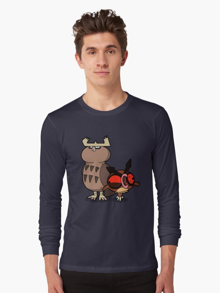 Owl mess you up! Long Sleeve T-Shirt Front