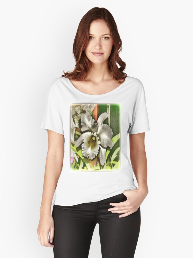 White Wonder Women's Relaxed Fit T-Shirt Front