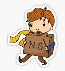 Newt-case Sticker