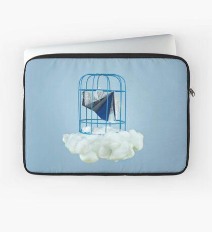 Wolke unter Gefangenvogel Laptoptasche