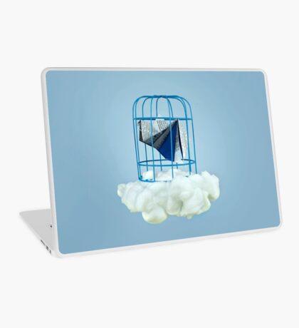 Wolke unter Gefangenvogel Laptop Folie