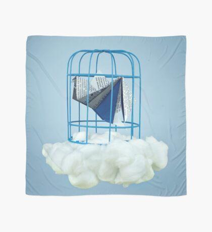 Wolke unter Gefangenvogel Tuch